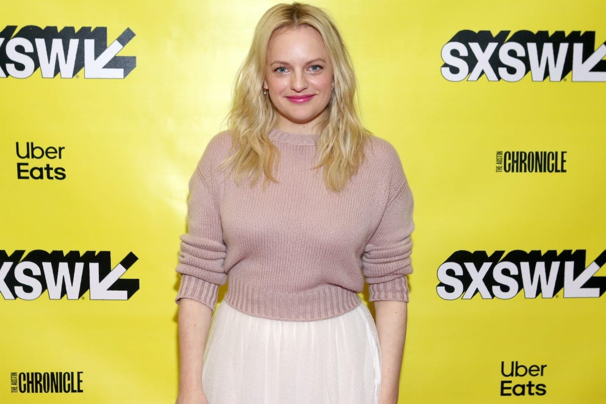Elisabeth Moss attends Featured Session: Elisabeth Moss with Brandi Carlile during the 2019 SXSW Conference and Festivals at Austin Convention Center on March 10, 2019 in Austin, Texas. (Photo by Travis P Ball/Getty Images for SXSW)