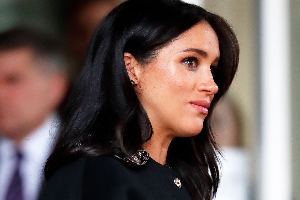 Meghan Markle, Duchess of Sussex, in profile (2019)