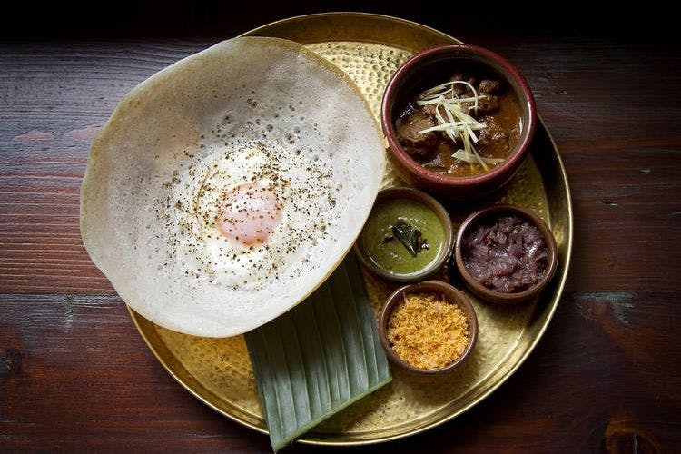The Hoppers brunch is a Sri Lankan feast in the heart of London
