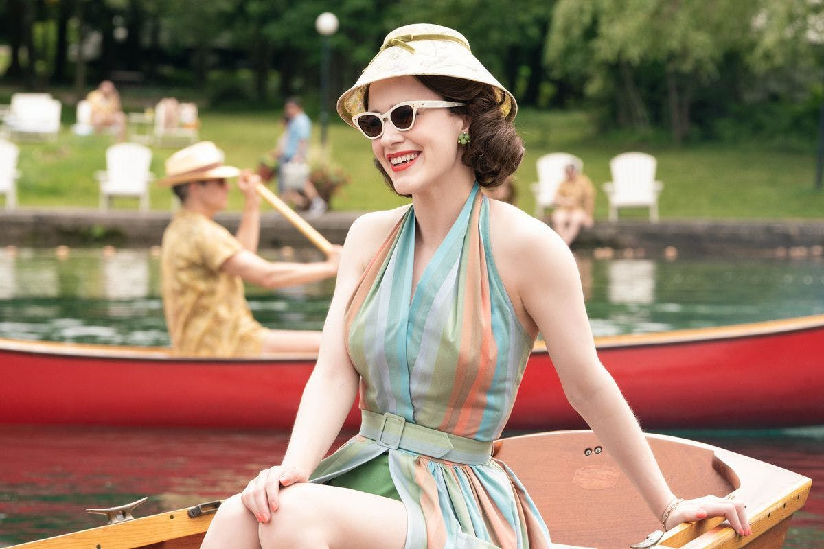 The Marvelous Mrs Maisel: Rachel Brosnahan returns as Midge.