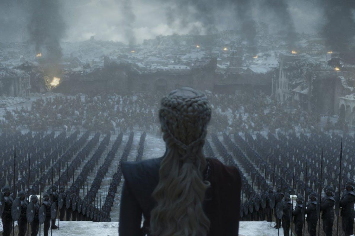 Game of Thrones finale: Emilia Clarke as Daenerys Targaryen