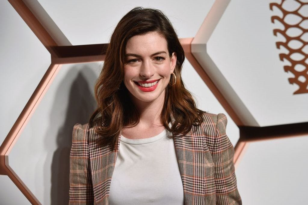 The actor Anne Hathaway