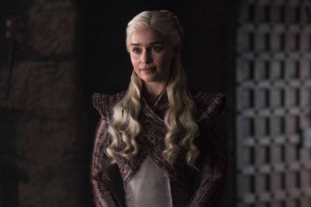 Game of Thrones season 8 episode 2: Emilia Clarke as Daenerys Targaryen