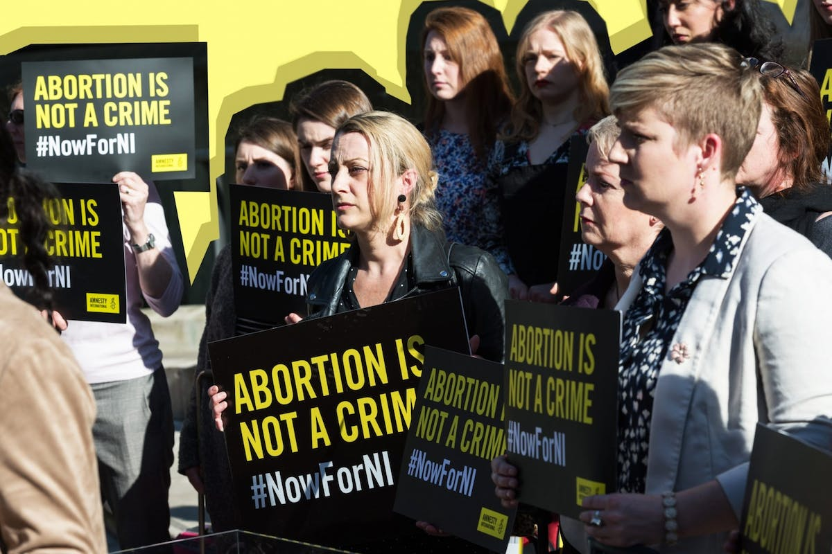 Northern Ireland abortion law pro-choice activists