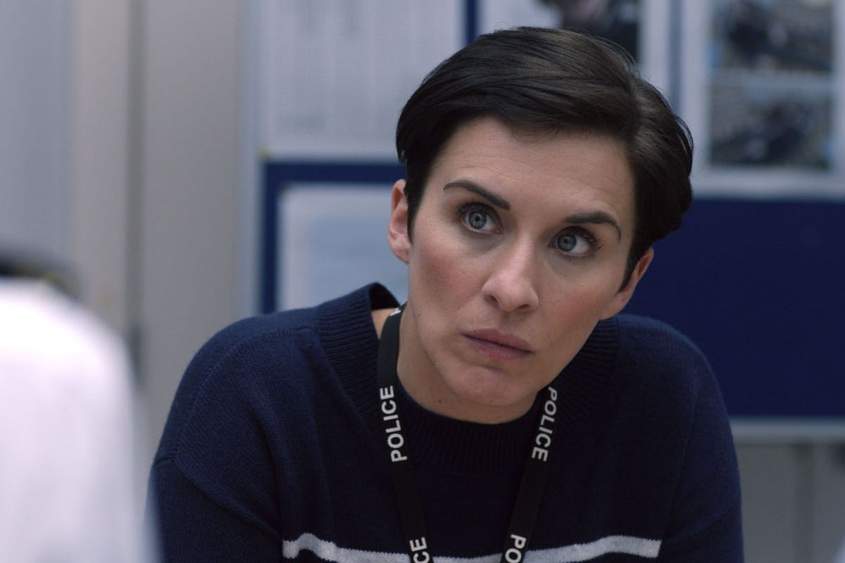 Vicky McClure as Kate Fleming in BBC TV series Line of Duty