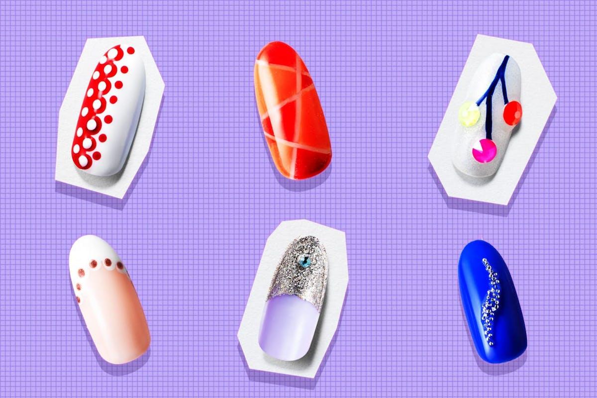 nail art marian newman
