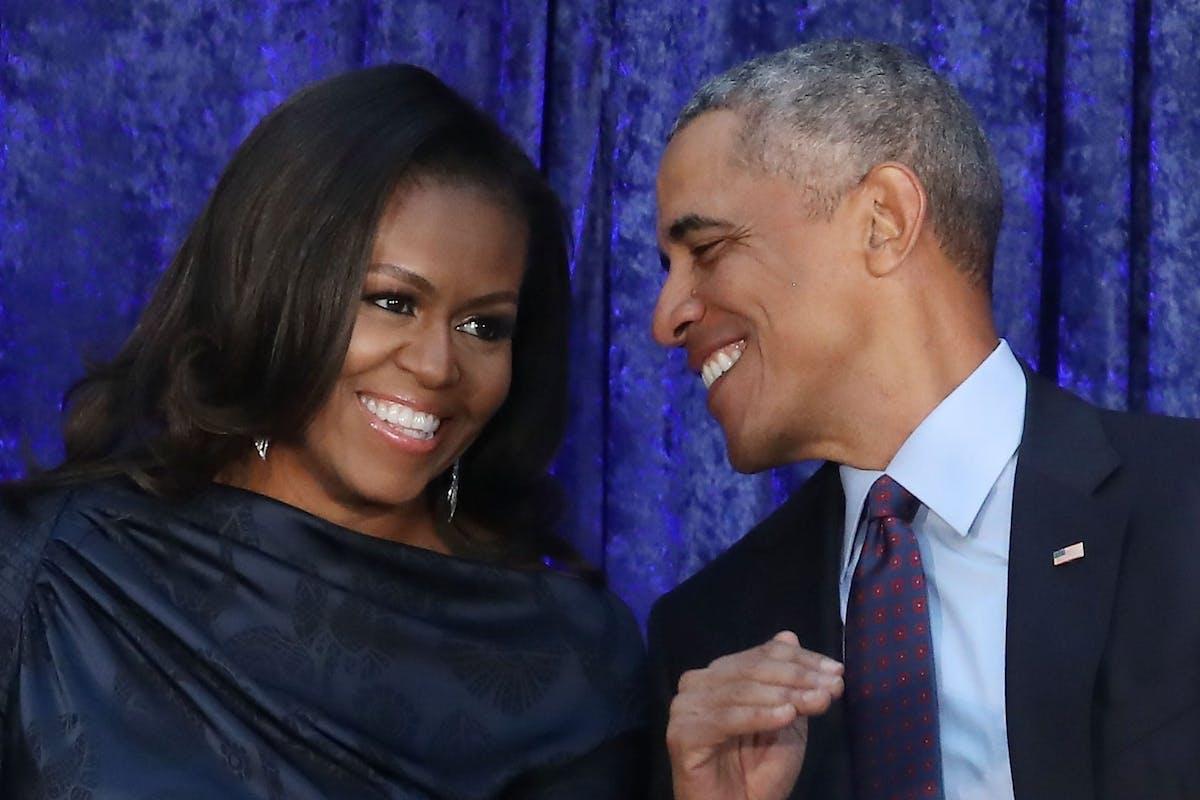 Michelle and Barack Obama Netflix