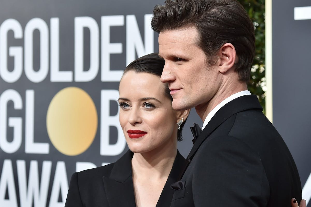 The Crown's Matt Smith and Claire Foy