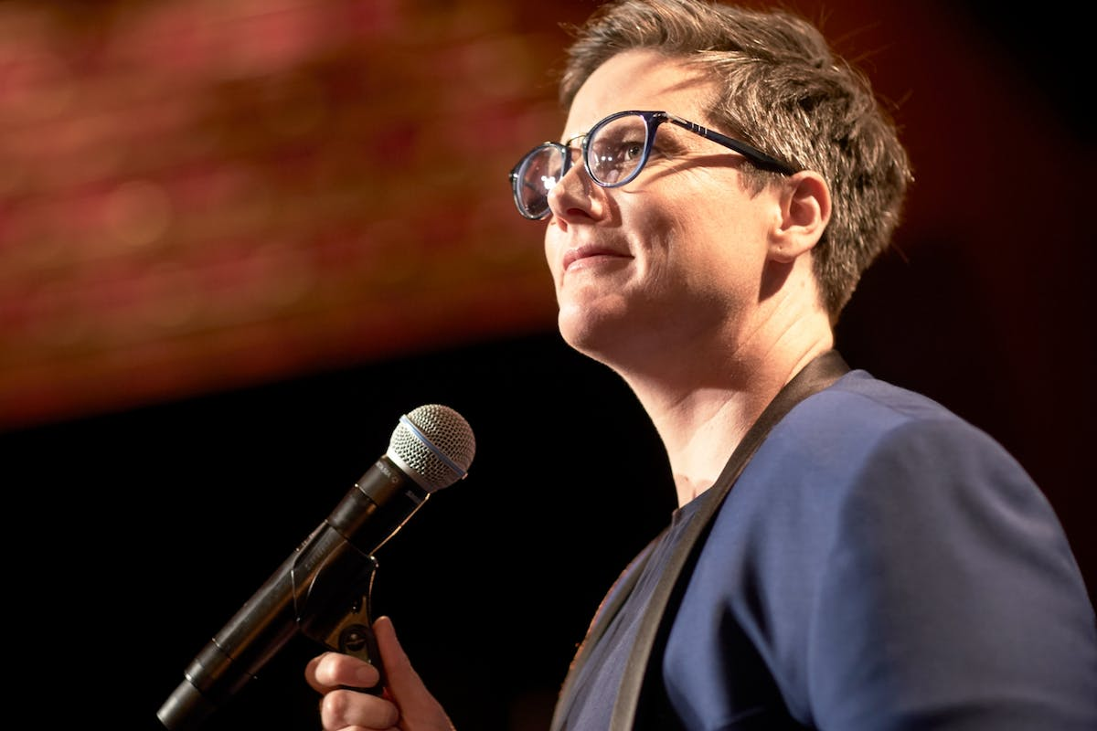 Nanette's Hannah Gadbsy has done a TED Talk