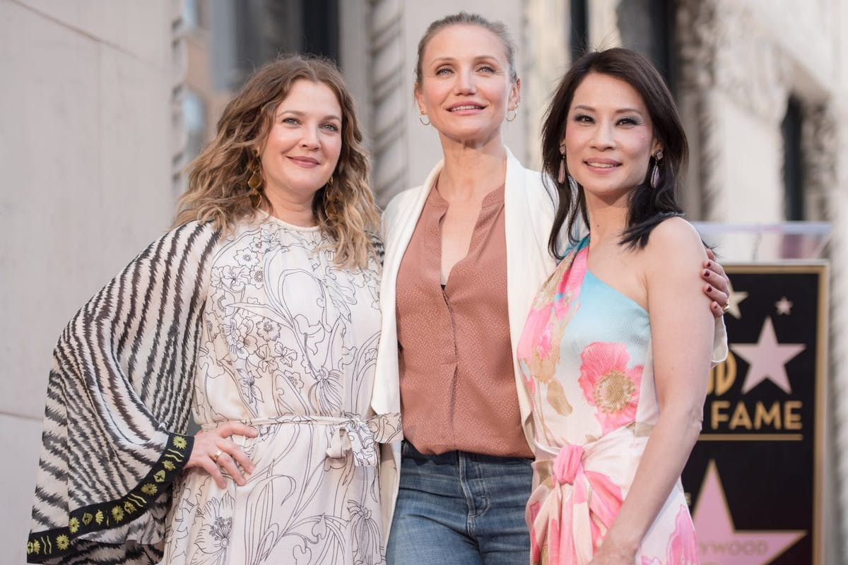 Lucy Lui Charlie's Angels reunion