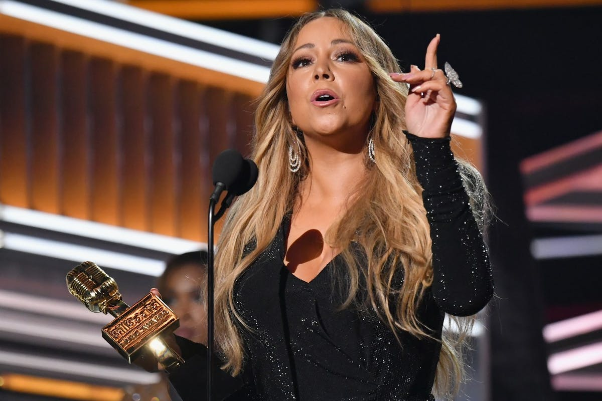 Mariah Carey BBMA speech