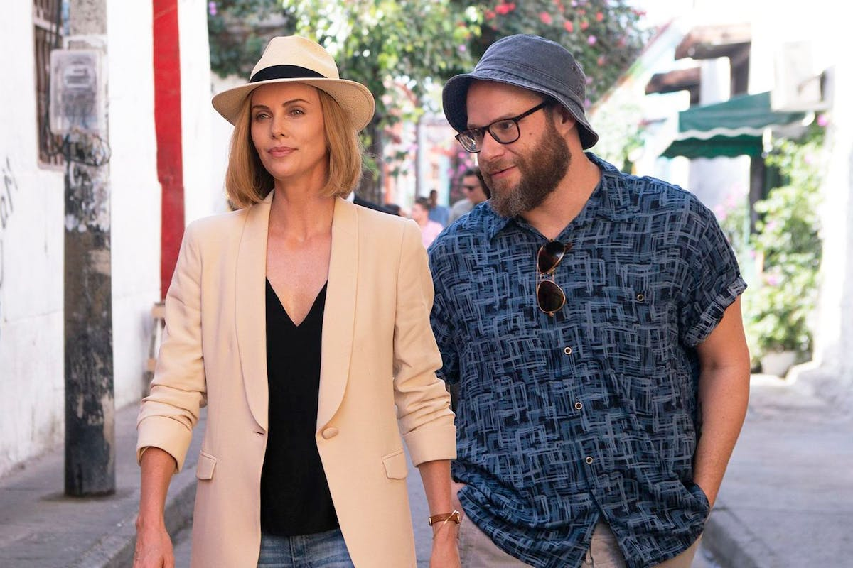 Long Shot starring Charlize Theron and Seth Rogen
