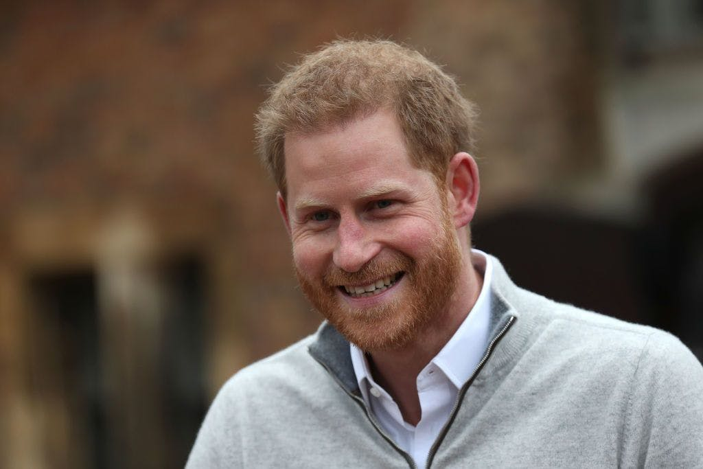 New dad Prince Harry