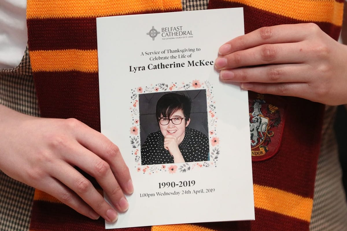 Lyra McKee remembered at her funeral