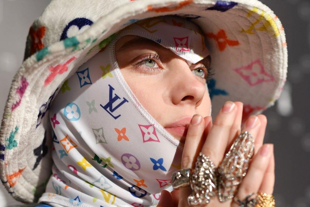 Calvin Klein model Billie Eilish