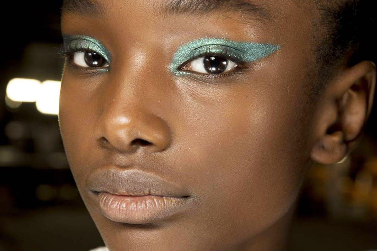 Versace-green-eye-makeup