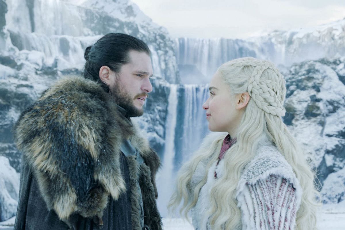 Jon Snow and Dany Game of Thrones