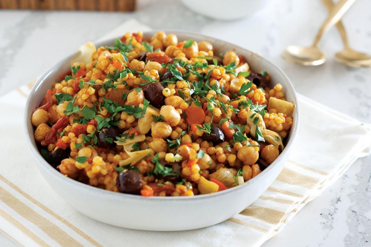 Easy one-pot vegan Sicilian couscous recipe