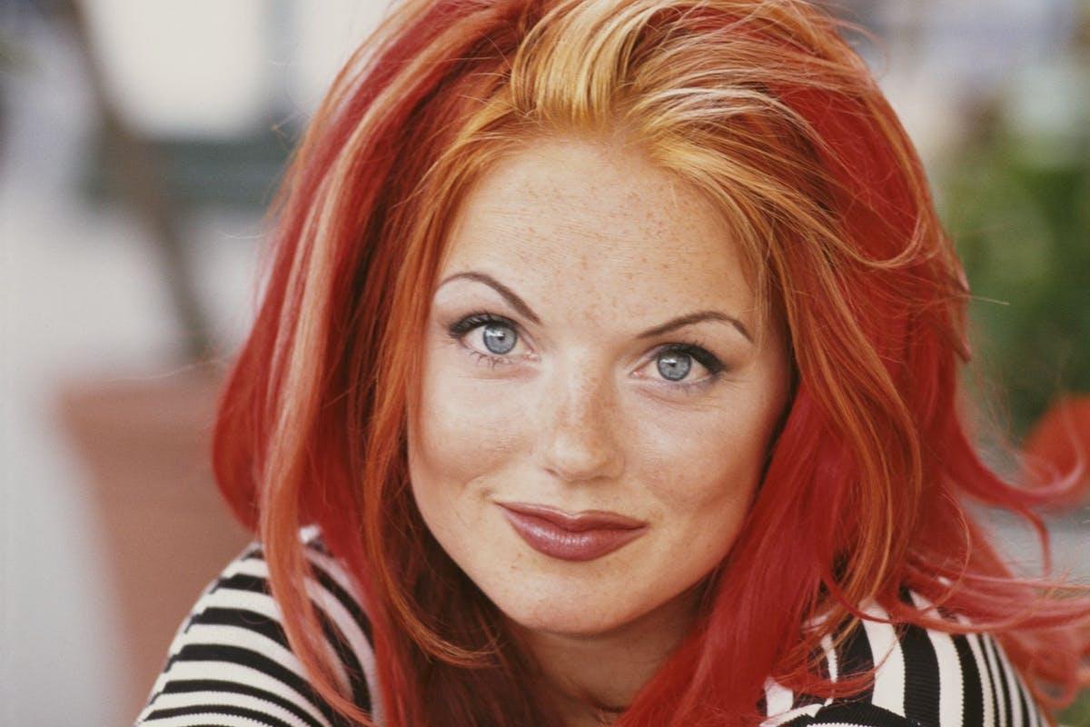 Geri Halliwell red hair