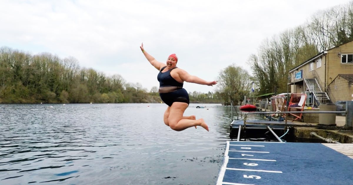 An open letter to every plus-size swimmer who's afraid of being mocked at the pool