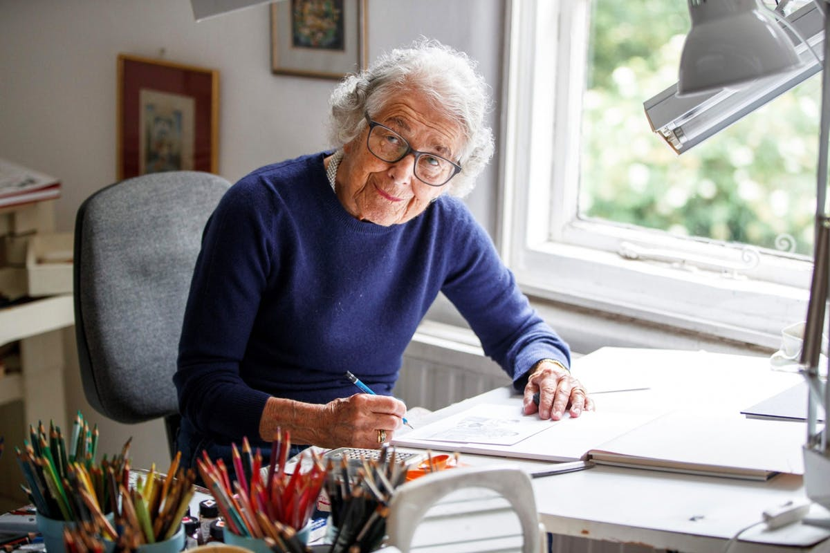 Judith Kerr, author of The Tiger Who Came to Tea