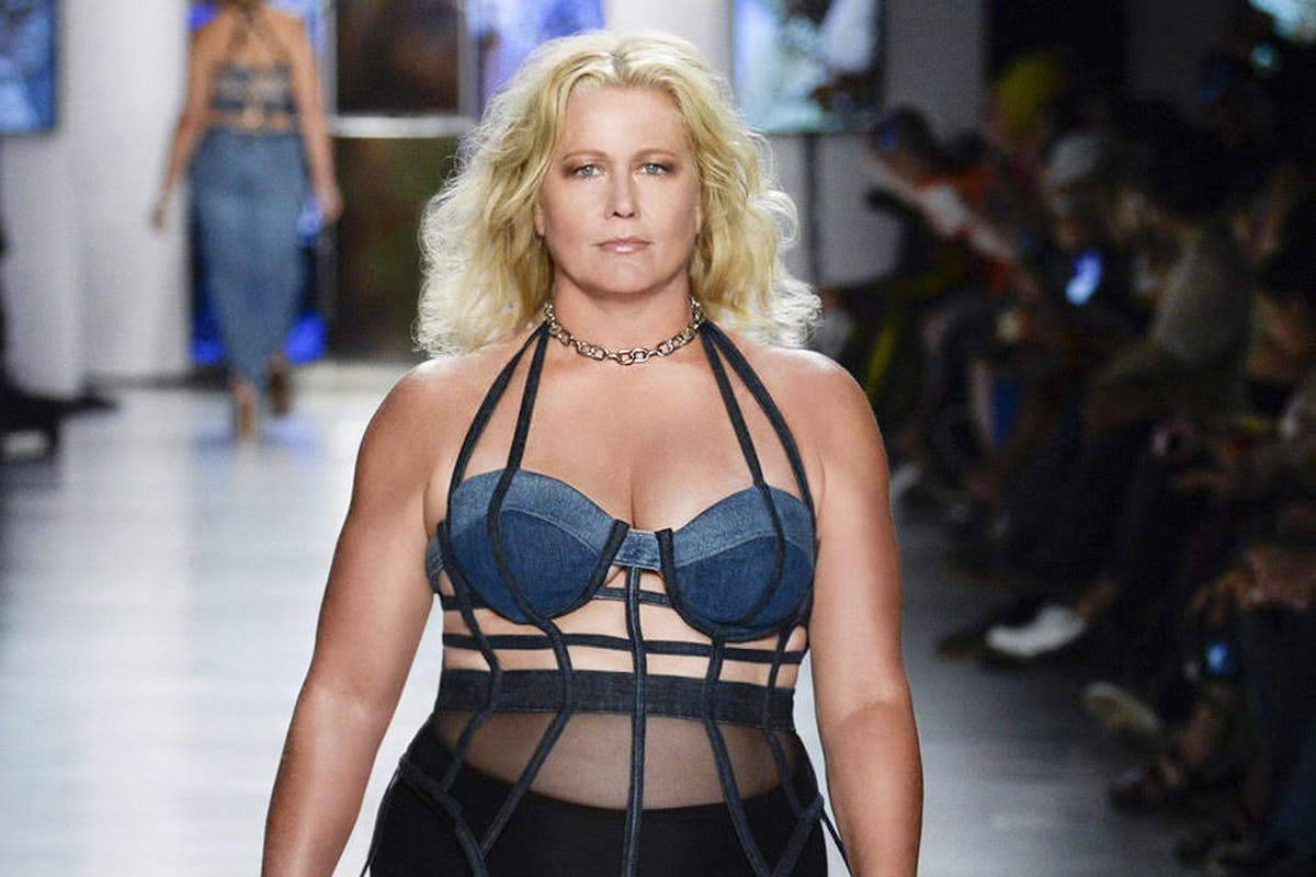 Plus size supermodel Emme