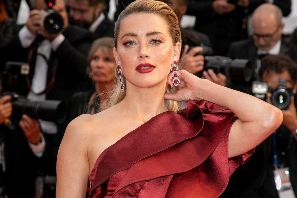 "CANNES, FRANCE - MAY 17: Model Amber Heard attends the screening of ""Pain And Glory (Dolor Y Gloria/ Douleur Et Glorie)"" during the 72nd annual Cannes Film Festival on May 17, 2019 in Cannes, France. (Photo by Marc Piasecki/FilmMagic)"