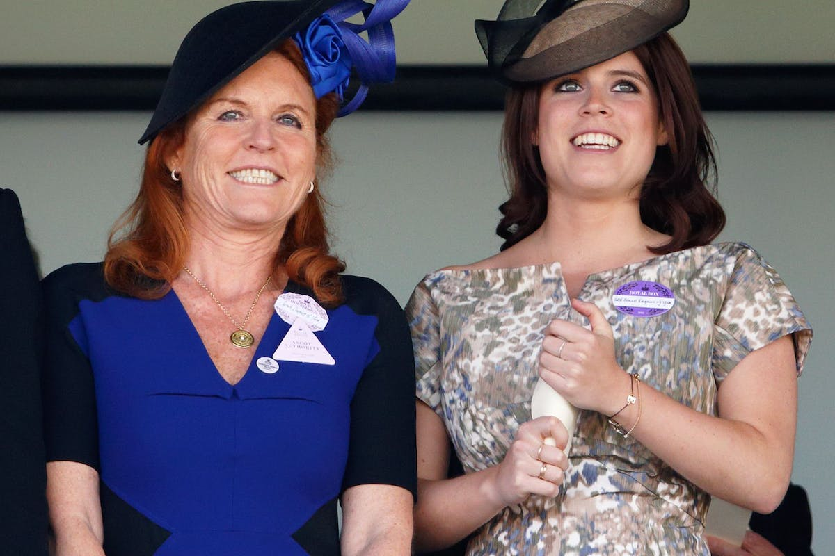 Fergie's response to those Princess Eugenie pregnancy reports is beyond brilliant
