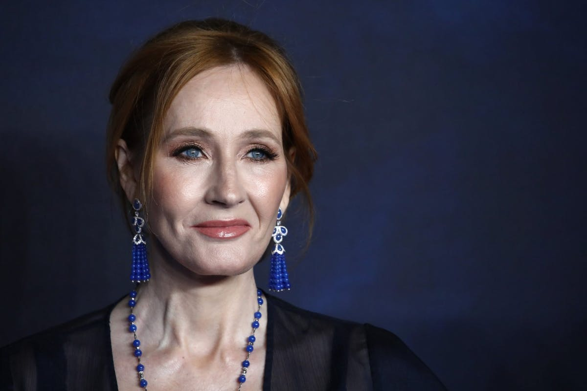 J.K Rowling at Crimes of Grindelwald Premiere