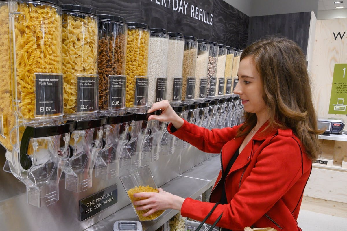 Buying wine and pasta at Waitrose is about to become a whole lot greener