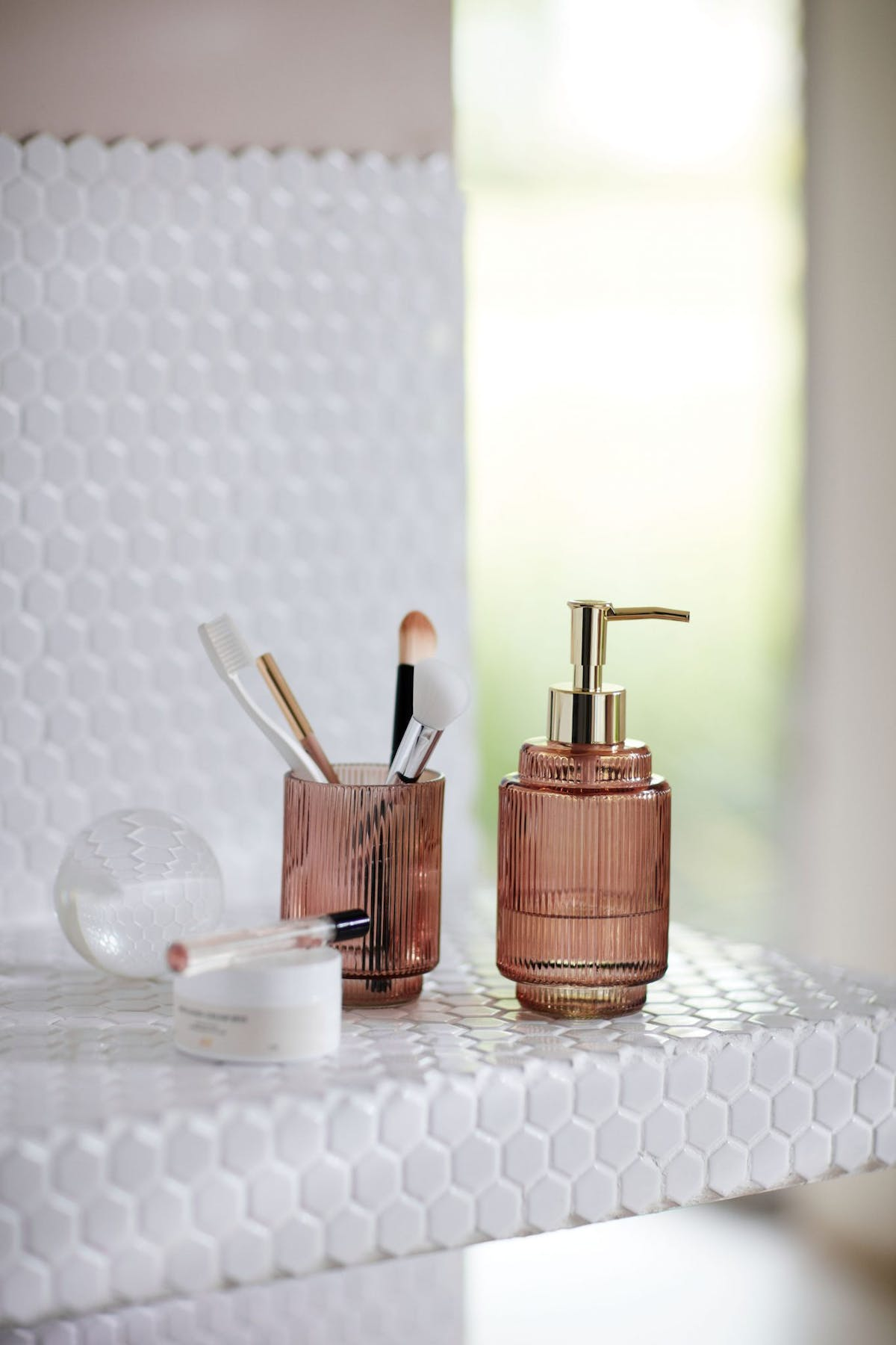 Pink Bathroom Accessories And Ideas