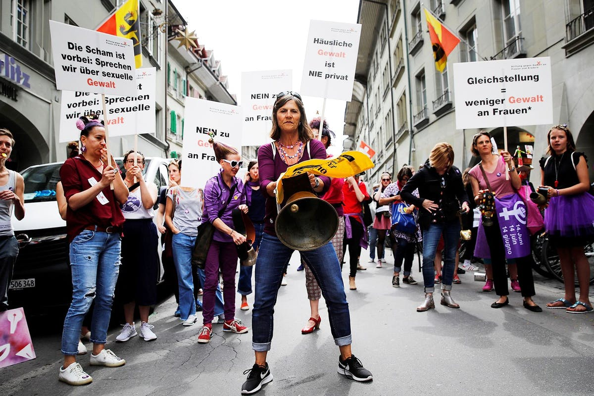 Switzerland's women are marching for equality and we're all behind them