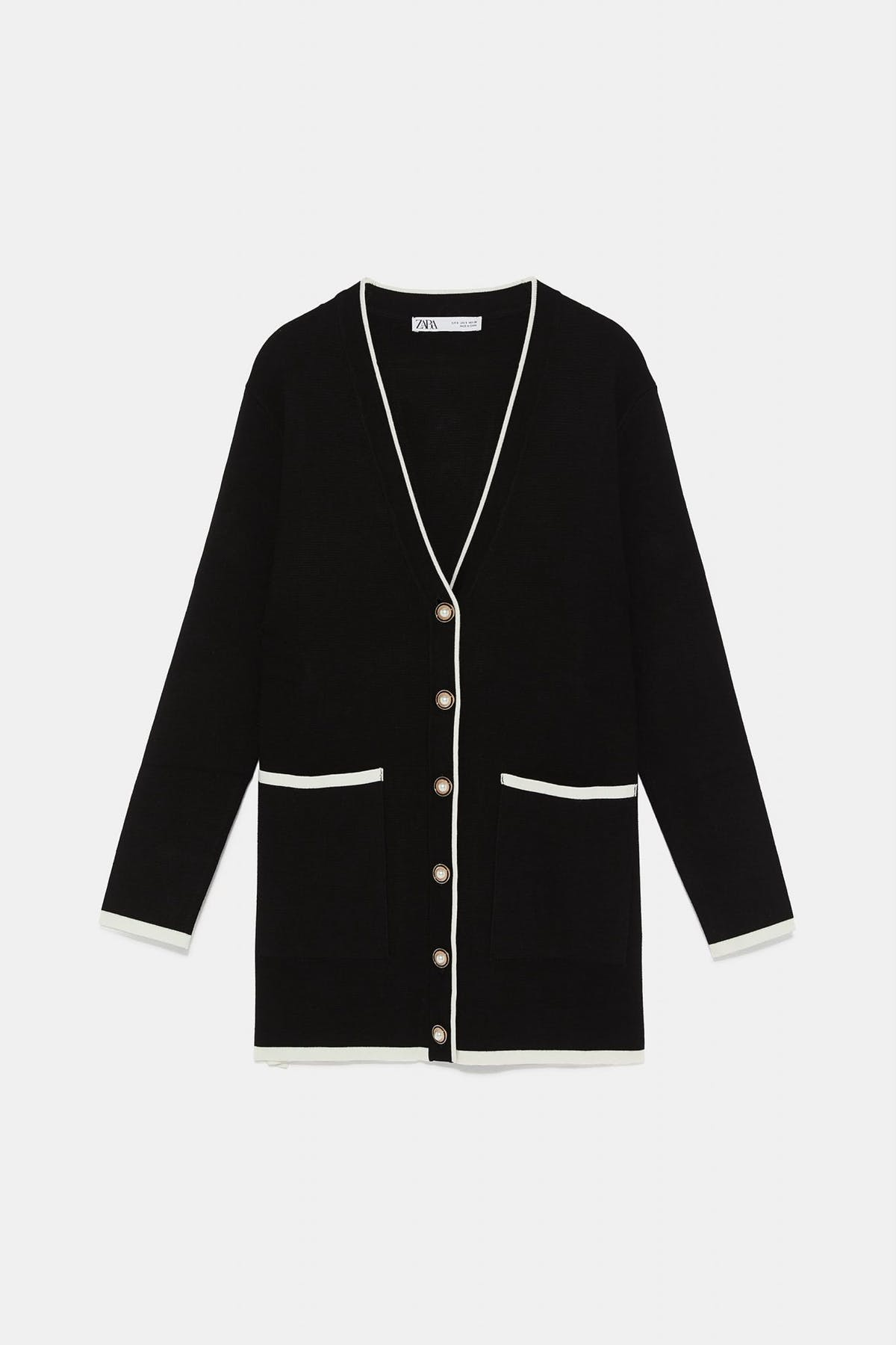 8765223d The cardigan is an ideal mid-season layer. Here's how to wear it