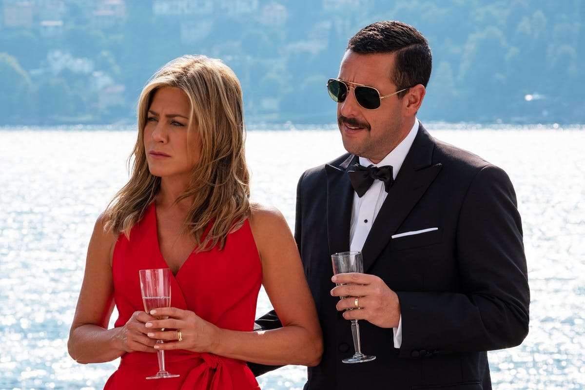 Why Jennifer Aniston's turn in Netflix's Murder Mystery is a welcome antidote to gloomy TV