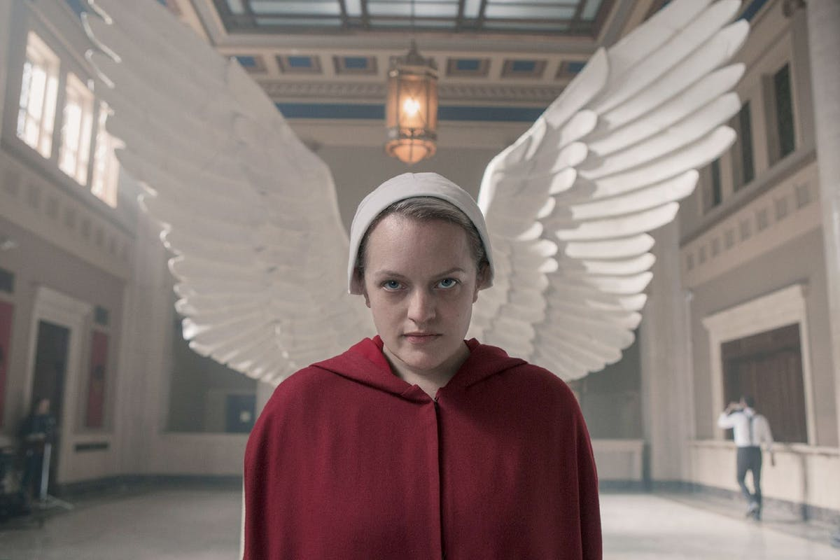 "Handmaid's Tale: Elisabeth Moss' message to anyone who says show is ""too hard to watch"""