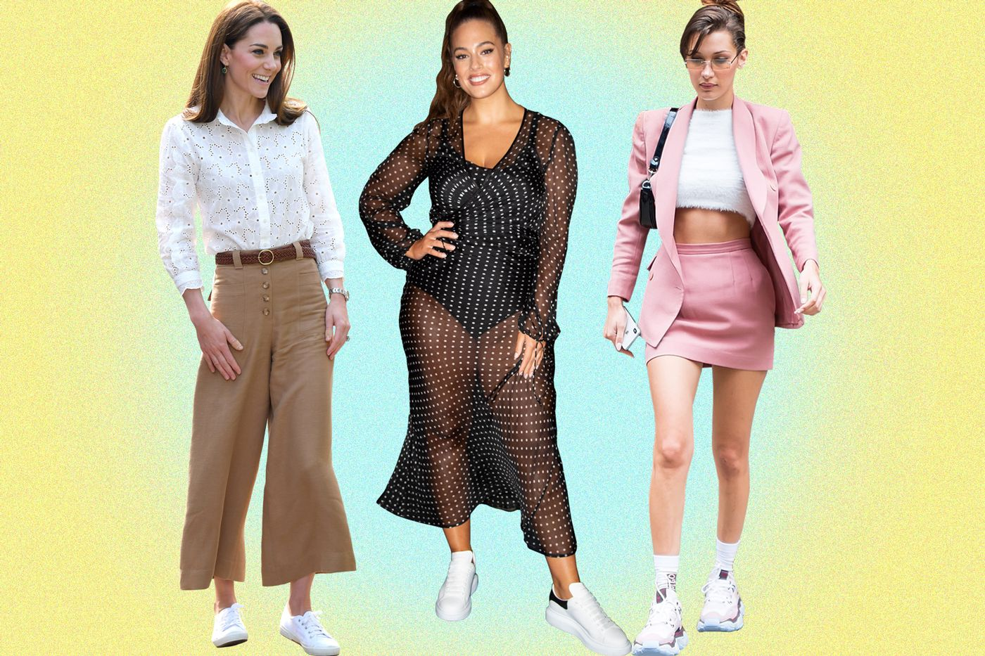 8 celebrities that have worn trainers we can actually afford