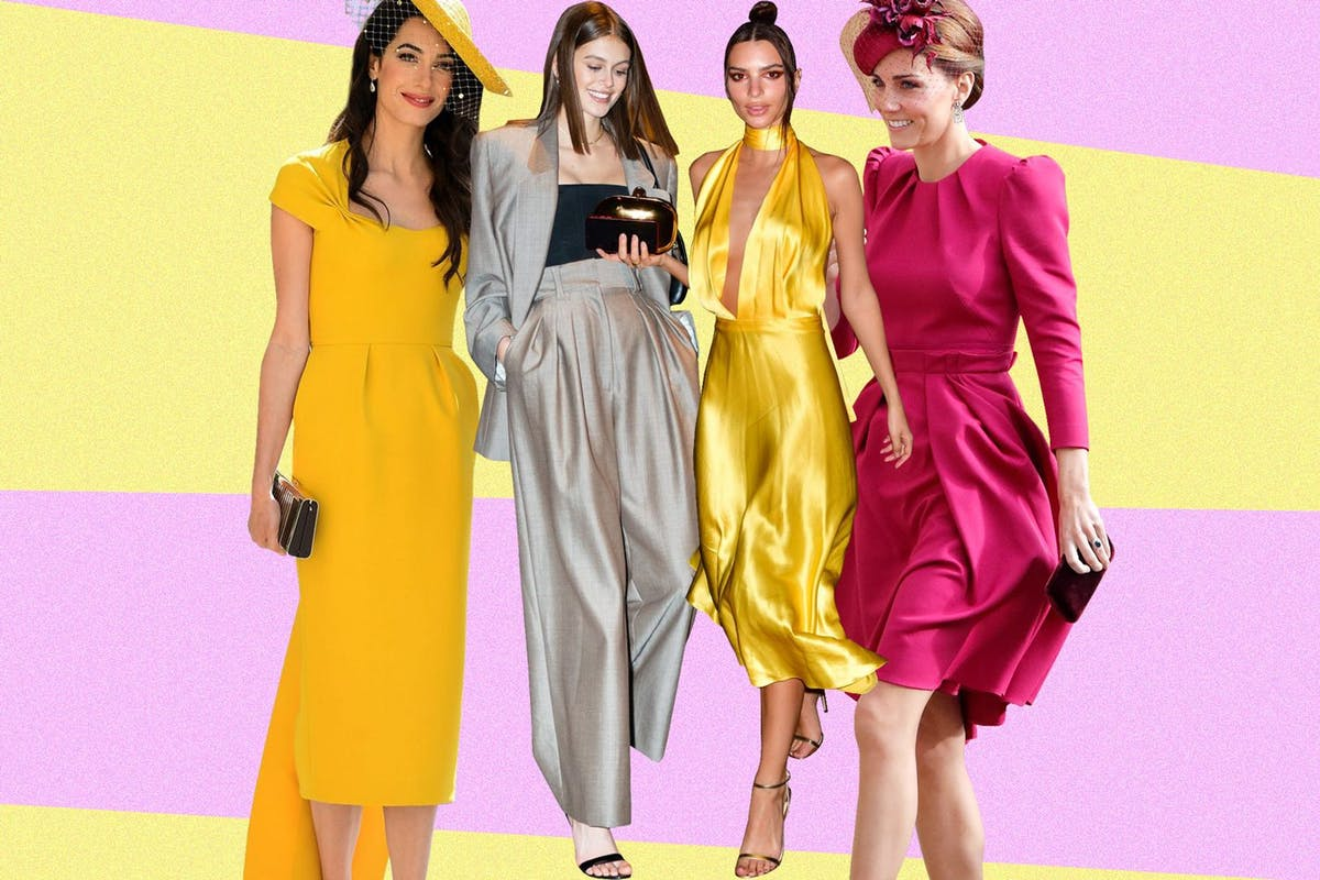 Celeb wedding guest outfits