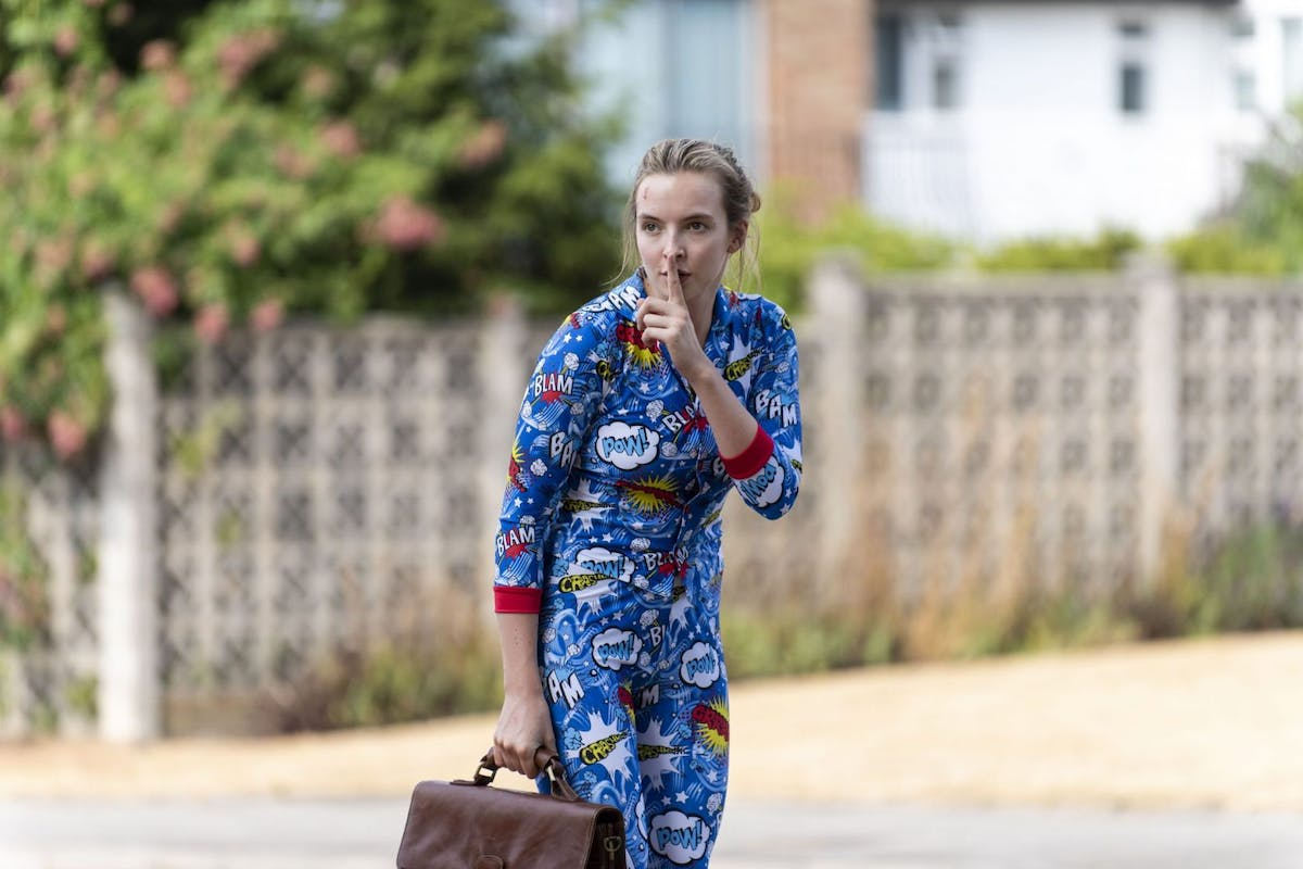 Villanelle fashion looks cartoon pyjamas