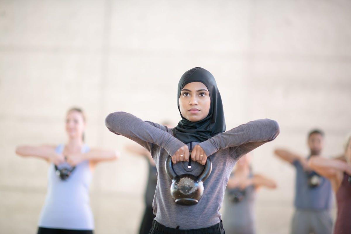 Celebrity strength training