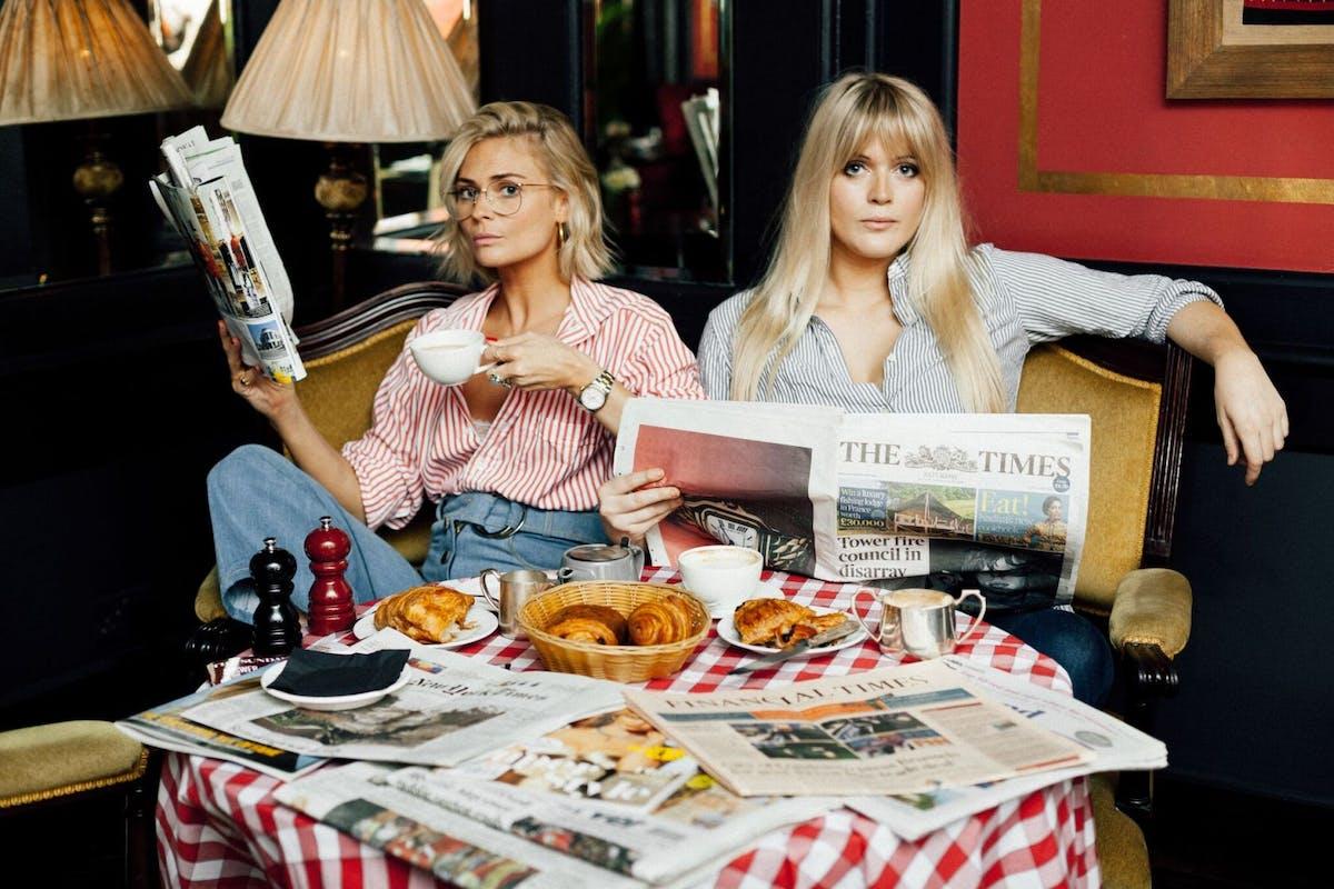 Dolly Alderton and Pandora Sykes