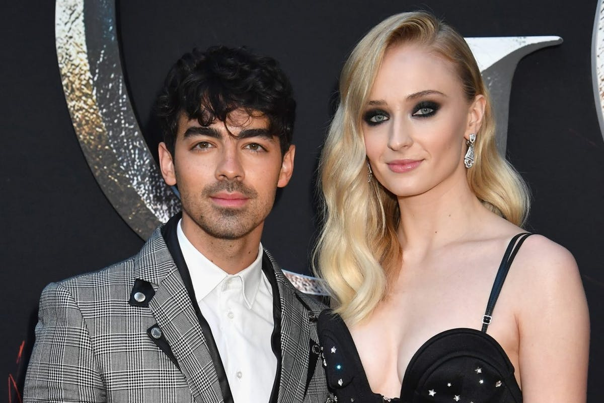 Sophie Turner shares first wedding dress photos, and Instagram goes into meltdown again