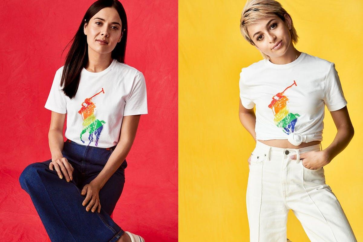Ralph Lauren Pride T-shirts