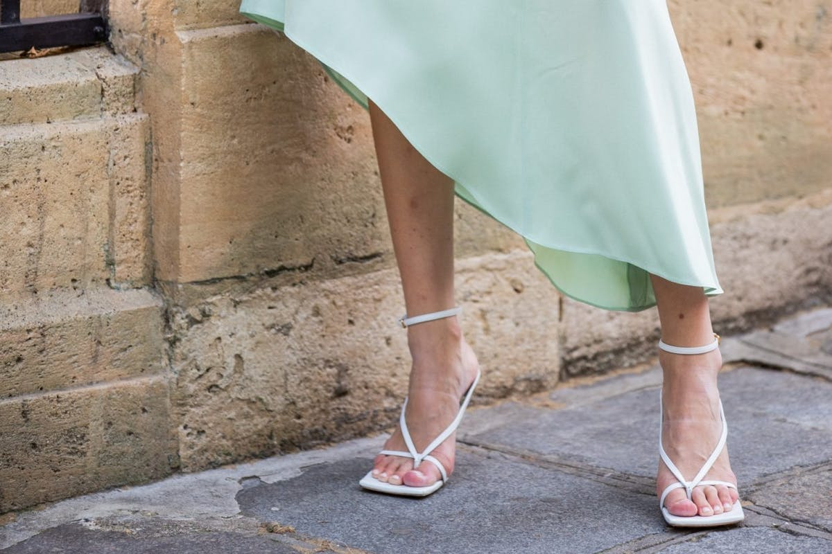 Image of street style white shoes