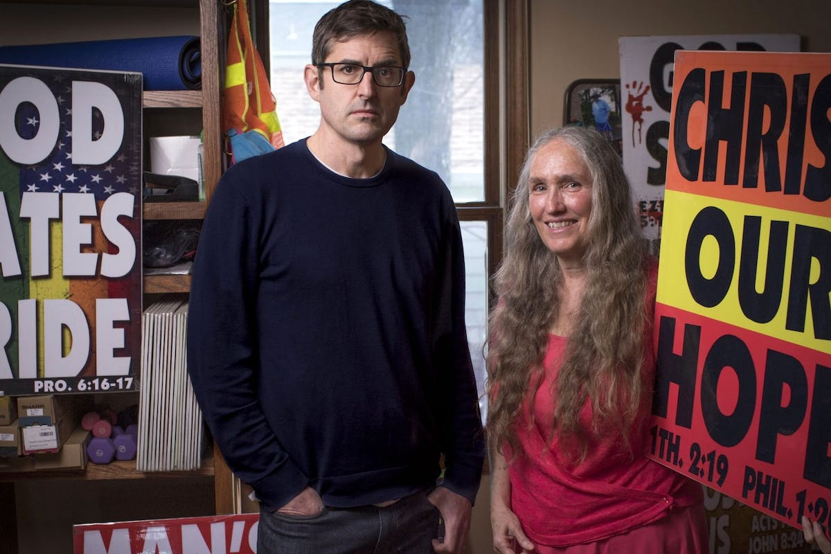 Louis Theroux's newest documentary, Surviving America's Most Hated Family, sees him revisiting Westboro Baptist Church.