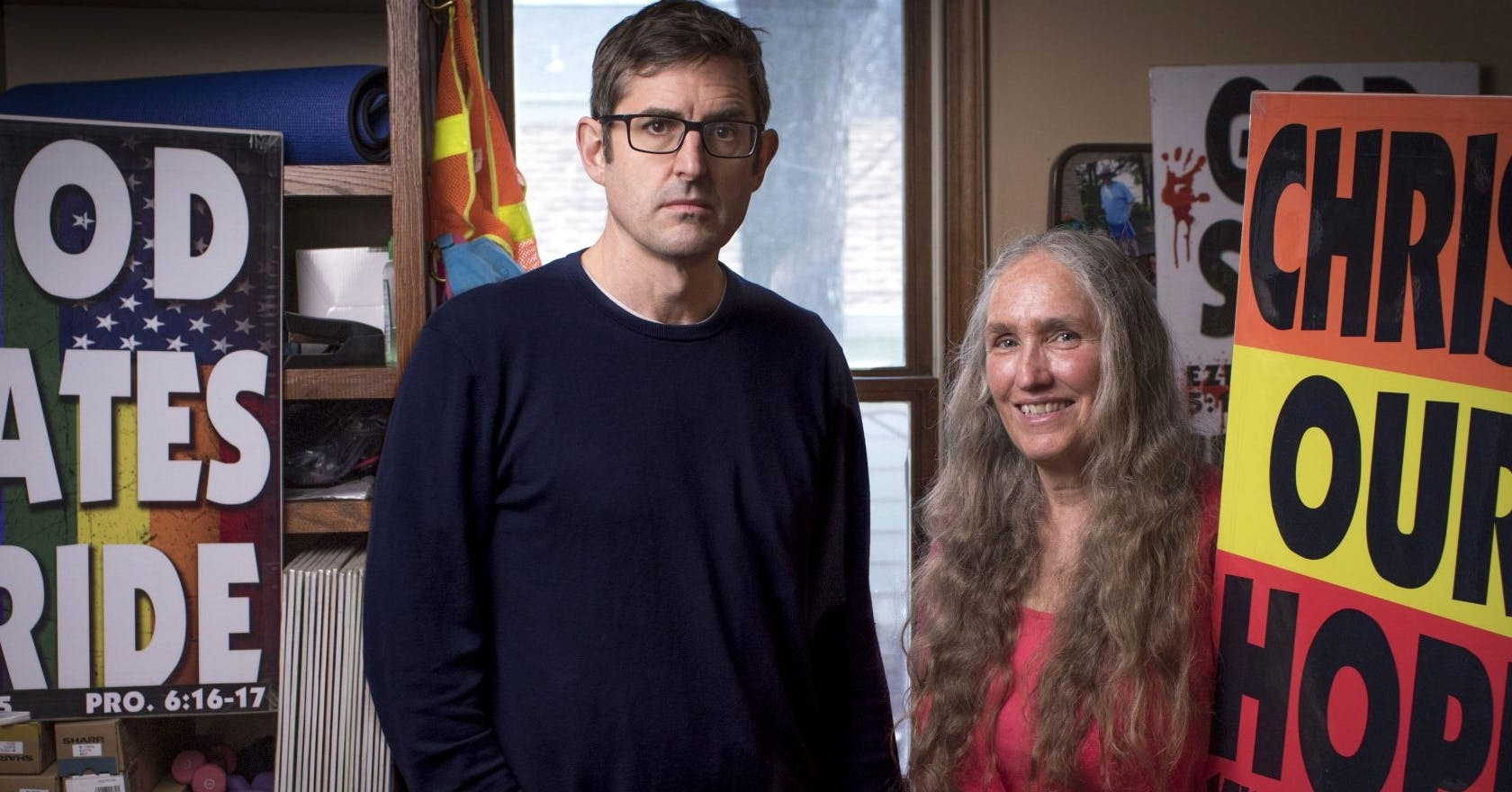 Louis Theroux reveals why he's really revisiting 'America's most-hated family' for his new documentary