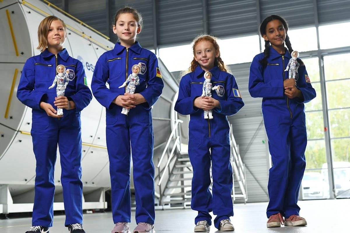 Astronaut Barbie has landed