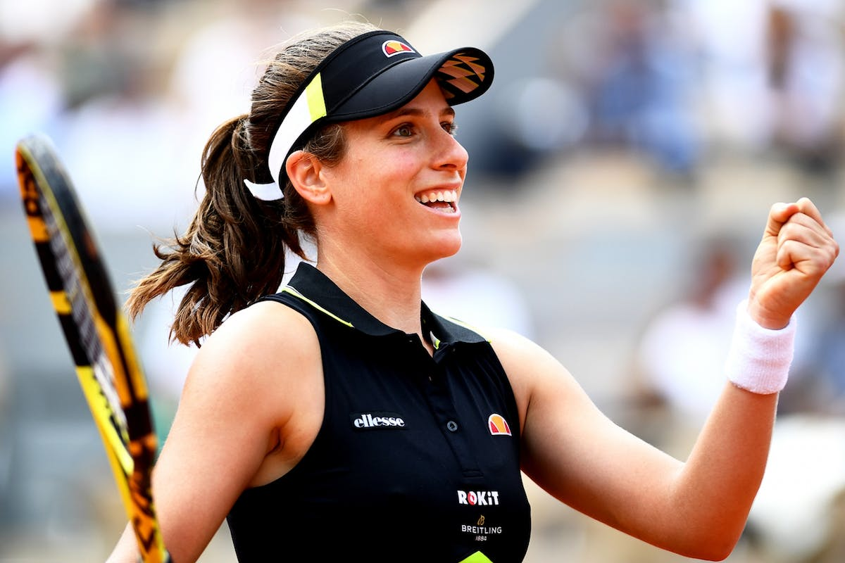 Johanna Konta was knocked out of Wimbledon 2019 by Barbora Strycova.