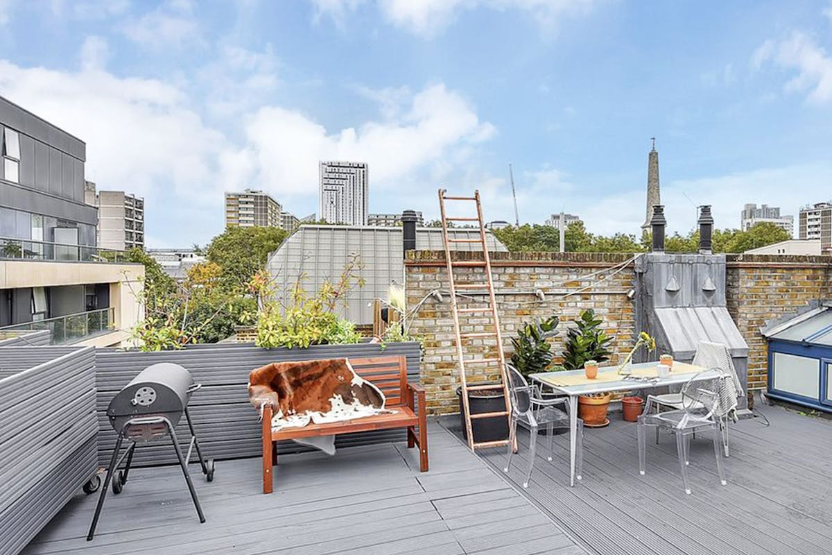 Rooftop holiday rentals in London