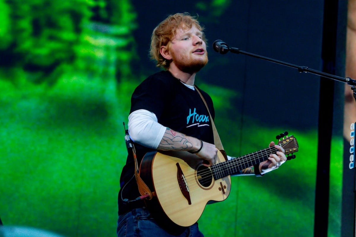 Ed Sheeran releases new album