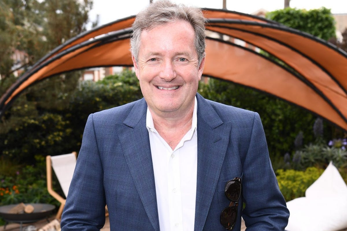 LONDON, ENGLAND - MAY 20: Piers Morgan attend the RHS Chelsea Flower Show 2019 press day at Chelsea Flower Show on May 20, 2019 in London, England. (Photo by Jeff Spicer/Getty Images)